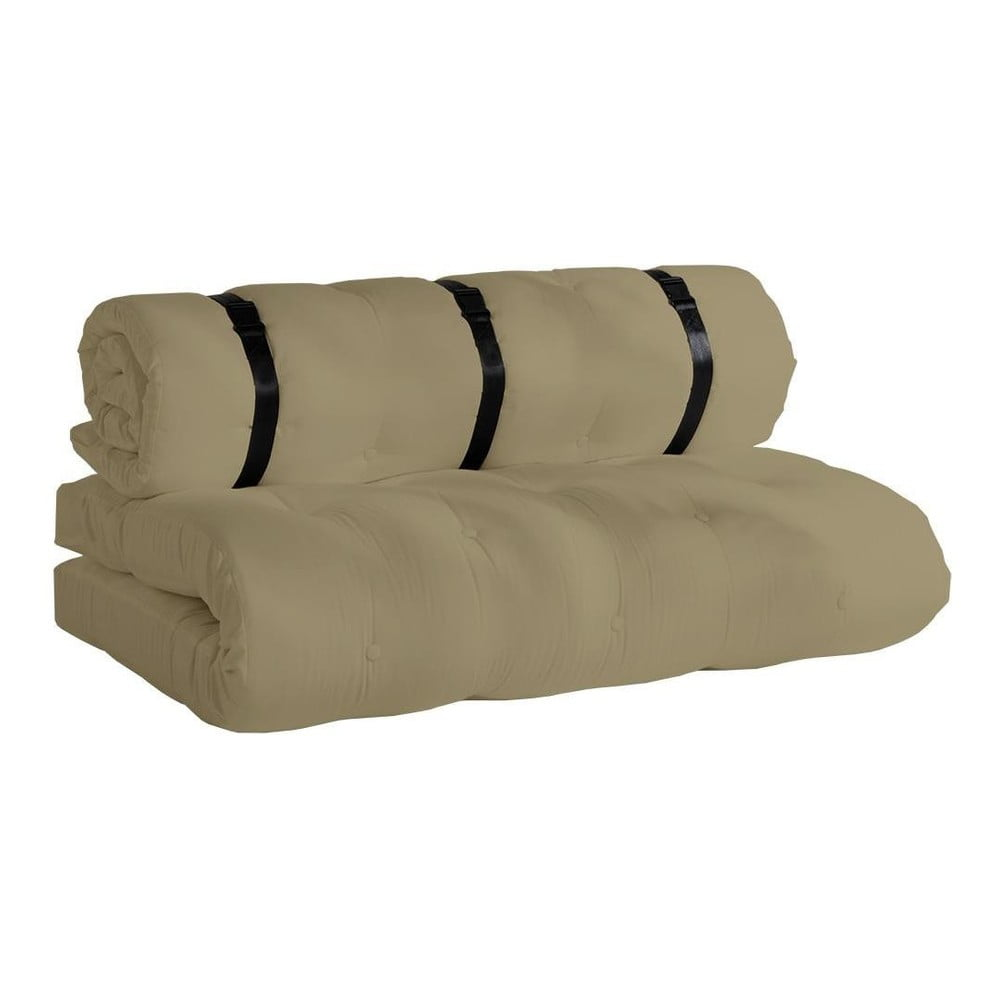 Beżowa sofa rozkładana odpowiednia na zewnątrz Karup Design OUT™ Buckle Up Beige