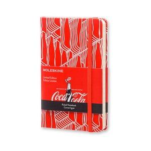 Notatnik Moleskine Coca-Cola, mały, w linie