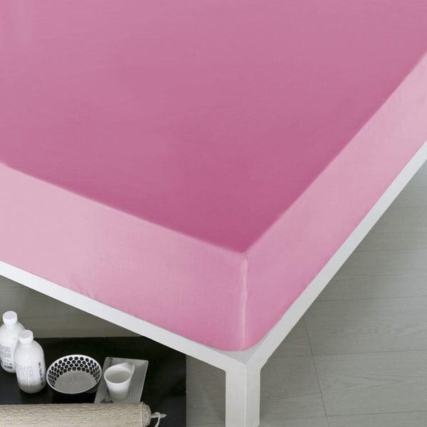 Prześcieradło Home Pink, 160x200 cm
