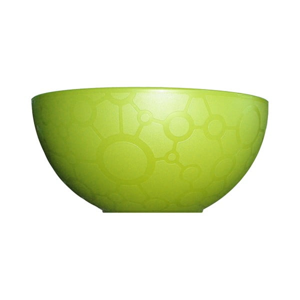 Zielona miska ForMe, Ø14 cm