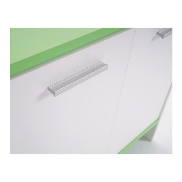 Szafka łazienkowa Sonoma White/Green, 28x60x56 cm