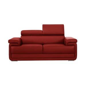 Czerwona sofa 2-osobowa Corinne Cobson Eclipse