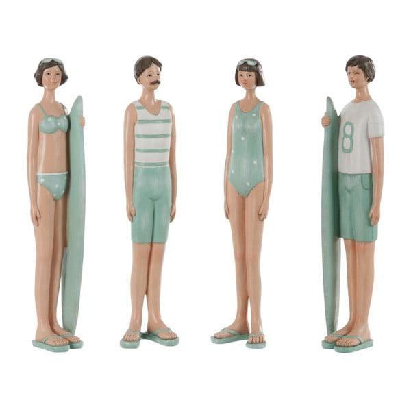 Zestaw 4 dekoracji Kids Swimsuit, 8x6x35 cm