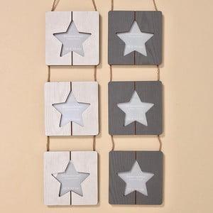 Zestaw 2 wiszących ramek na zdjęcia Star