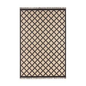 Beżowo-czarny dywan Hanse Home Intense Duro, 80x150 cm
