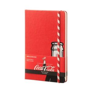 Notatnik Moleskine Coca-Cola Straw, duży, w linie