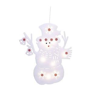 Świecąca dekoracja Snowman Silhouette