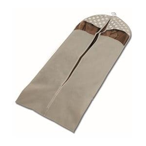 Beżowy pokrowiec na ubrania Cosatto Jolie, 137 cm