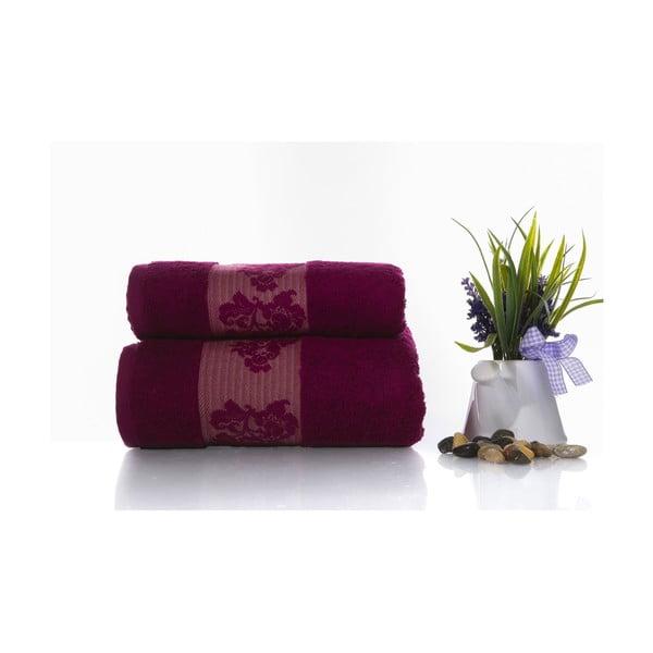 Zestaw 2 ręczników Suave V1, 50x90 cm + 70x140 cm