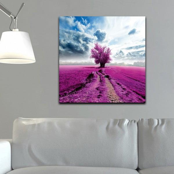 Obraz Fiolet i błękit, 60x60 cm