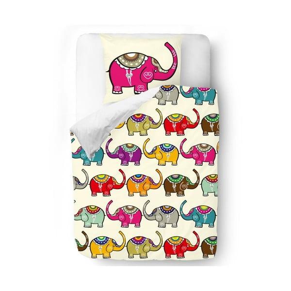 Pościel Pink Elephant, 140x200 cm