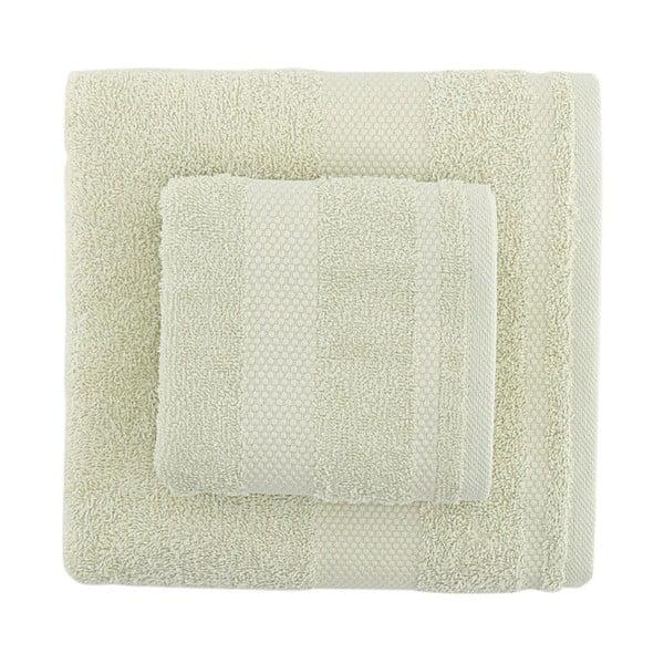 Zestaw 2 zielonych ręczników Clio