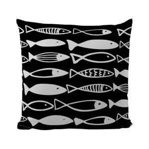 Poduszka Black Shake Fish Family, 50x50 cm