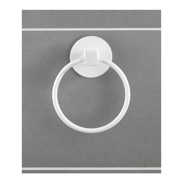 Okrągły wieszak na ręcznik z przyssawką Static-Loc, do 8 kg