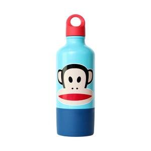 Butelka z kubkiem, niebieska