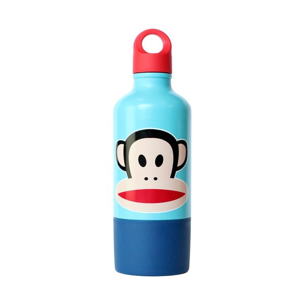 Niebieska butelka z kubkiem Paul Frank
