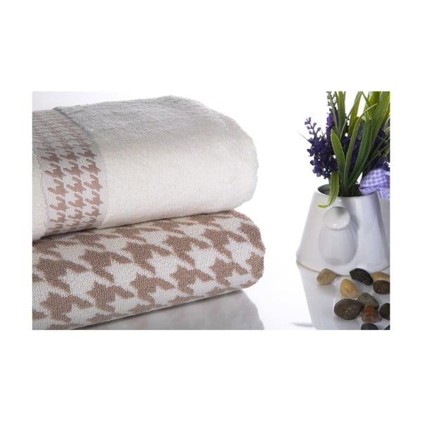 Zestaw 2 ręczników Carol V3, 50x90 cm