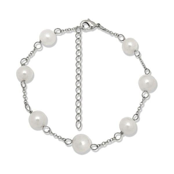 Bransoletka   z pereł Pearls of London Sterling
