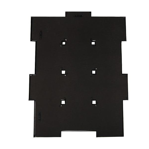 Połączone ramki na 12 zdjęć, czarne