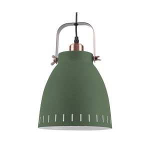 Zielona lampa wisząca Leitmotiv Mingle