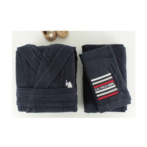Zestaw męskiego szlafroka i 2 ręczników U.S. Polo Assn. Lutsen, M