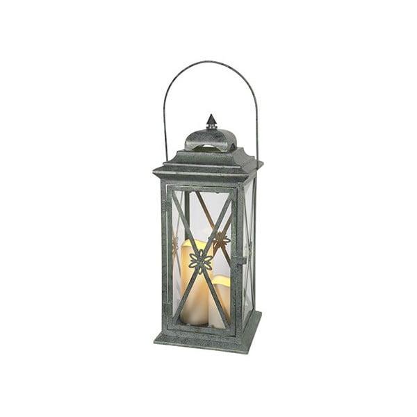 Zielony lampion LED Best Season Window, 50 cm