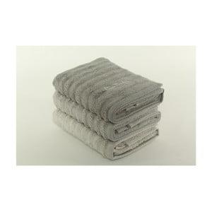 Komplet 3 ręczników Pierre Cardin Fur, 50x90 cm