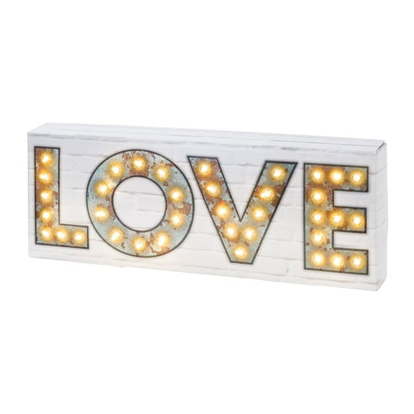 Dekoracja świecąca Love