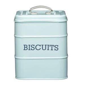 Metalowy pojemnik Biscuits, pistacjowy