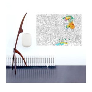 Kolorowanka Barcelona (70 x 100 cm)