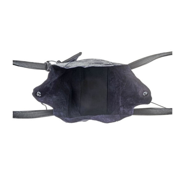 Skórzana torebka Soft Black