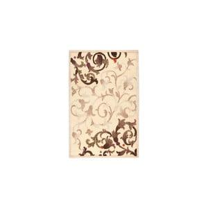 Dywan wełniany Dama no. 625, 60x120 cm, kremowy
