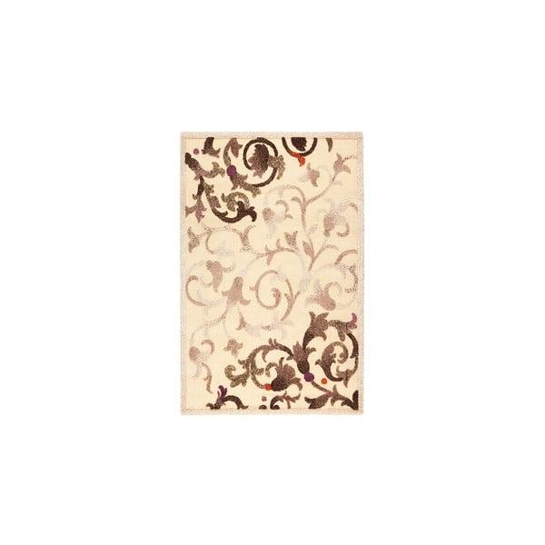 Dywan wełniany Dama no. 625, 120x160 cm, kremowy