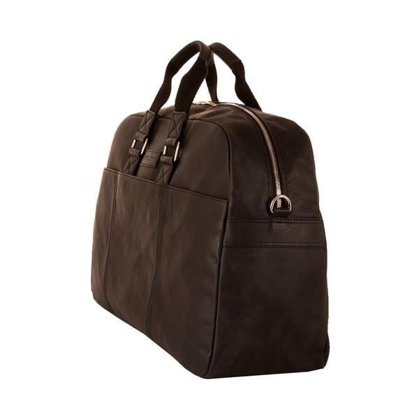 Męska torba podróżna Vintage Overnight Black
