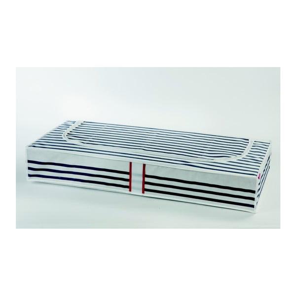 Pojemnik na ubrania pod łóżko Compactor Stripes