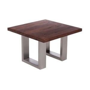 Stolik z orzechowego drewna Fornestas Fargo Alister