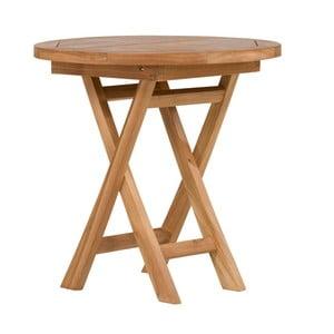 Okrągły stolik z drewna tekowego SOB Garden