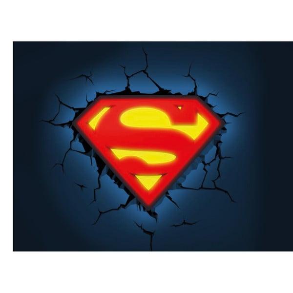 Kinkiet z naklejką Superman