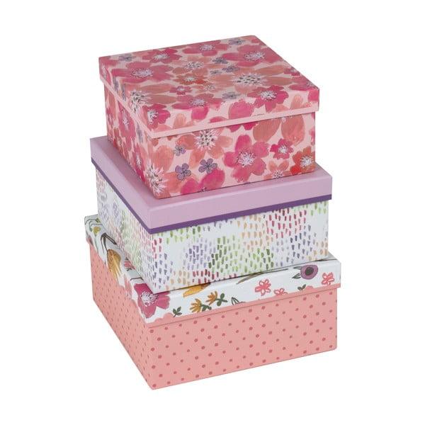 Zestaw 3 pudełek Jenna