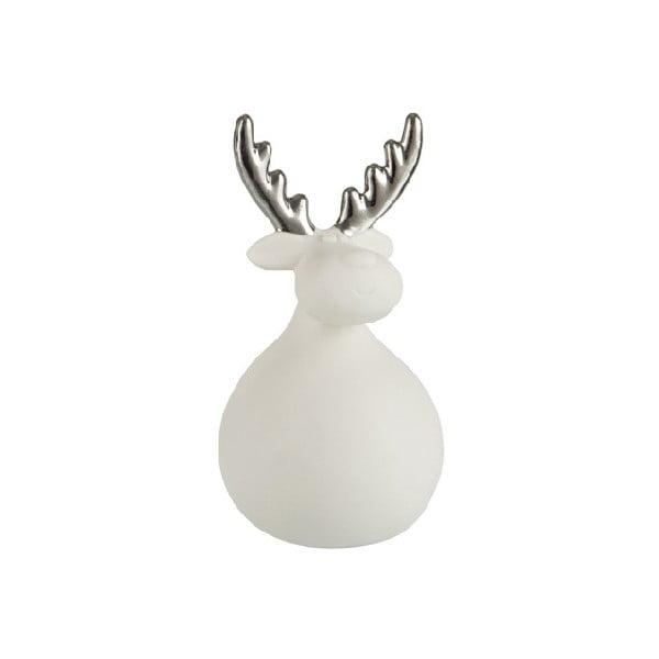 Dekoracyjny szklany renifer J-Line Reindeer Xmas