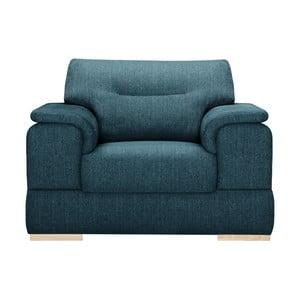 Niebieski fotel Stella Cadente Madeiro