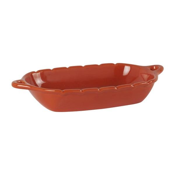 Czerwona miska do zapiekania Athezza Ania, 45x24 cm