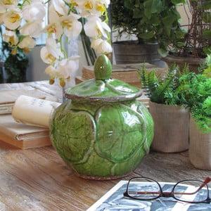 Naczynie Potiche Green, 18x22 cm