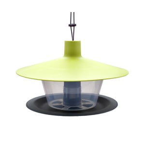 Zielono-szary karmnik dla ptaków Plastia Finch