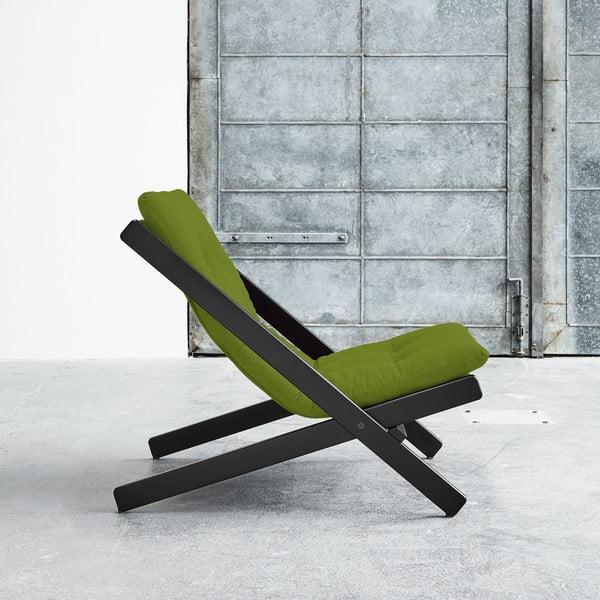 Fotel składany Karup Boogie Black/Lime