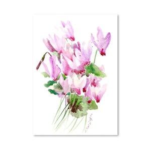 Plakat Pink Cyclamen (projekt Suren Nersisyan)