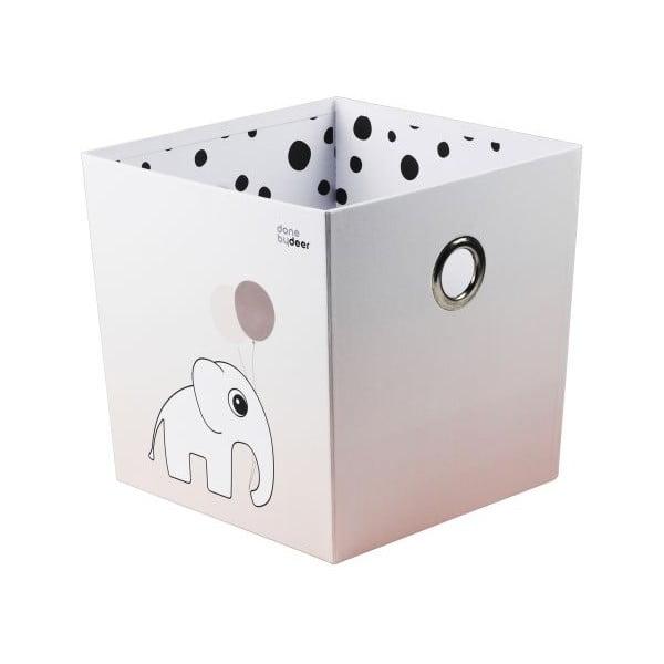 Pudełko Happy Dots, różowe