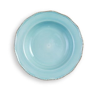 Średni turkusowy talerz Brandani