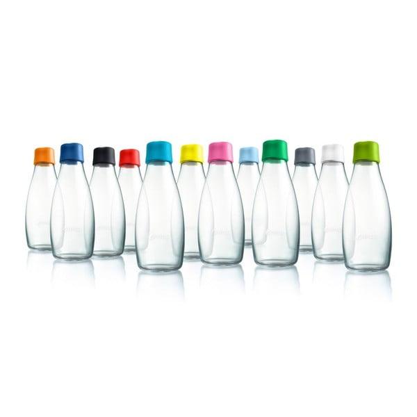 Czerwona butelka ze szkła ReTap z dożywotnią gwarancją, 300 ml