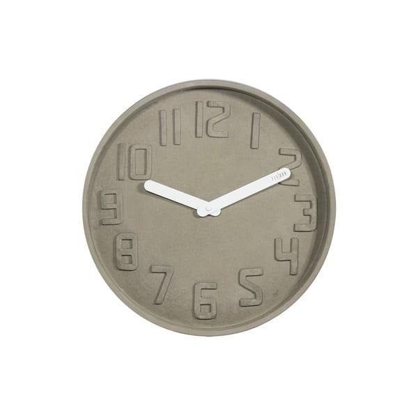 Zegar Concrete Blanca, 35 cm
